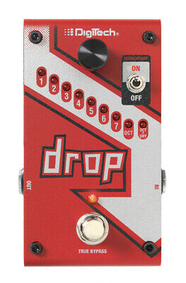 Digitech The Drop Polyphonic Drop Tune, New In Box W/ Warranty! Free 2-3 Day S&H • 161.85£