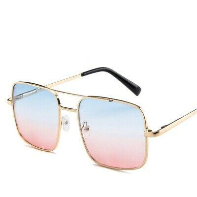 Oversized Vintage Sunglasses Shades Spring Hinges Pilot Mens Womens Fashion J655 • 4.99£