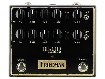 Friedman Amplification BE-OD Deluxe Overdrive Pedal • 233.34£