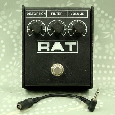 ProCo RAT 2 Distortion With Conversion Cable Guitar Effect Pedal (334107) • 60.95£