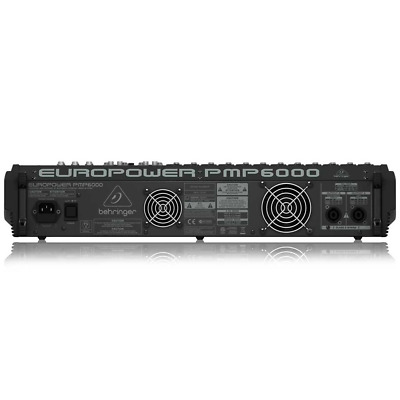 Behringer Europower PMP6000 1600-Watt 20-Channel Powered Mixer • 867.78£