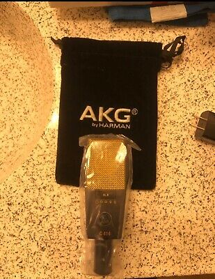 AKG C414 B-XLII Condenser Cable Professional Microphone • 483.73£