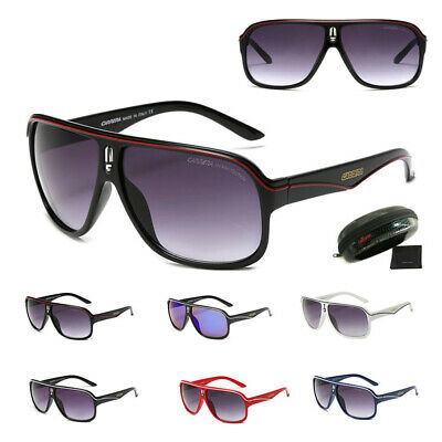 Carrera Men's Sunglasses Ruthenium Pilot Gradient Lens Eye Glasses +Brand Box • 6.99£