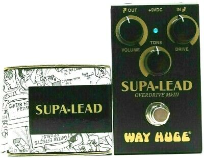 Used Way Huge Supa-Lead Overdrive MkIII, Mint Condition With Box! • 64.70£