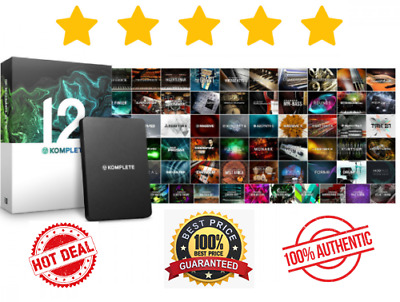Native Instruments Komplete 12🔥Ultimate ✅ Fast Delivery [MAC-WIN] • 3.40£