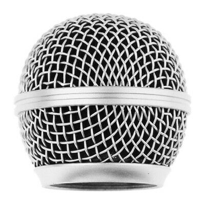 UK Microphone Grille Mesh Cover Windshield For Shure SM58 SM58LC SM58SK SM58S • 5.59£