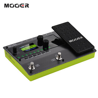 MOOER GE150 Amp Modelling & Multi Effects Pedal 80S Looper 10 Tempo Tap T1F8 • 119.89£