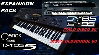 Yamaha Genos Tyros5 Expansion Pack Italo Disco Oldschool • 80£
