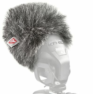 Rycote 055430 Mini Windjammer For Rode Stereo VideoMic Pro • 47.46£