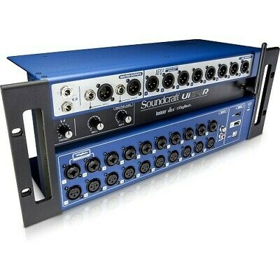 Soundcraft 24-channel Digital Mixer/USB Multi-Track Recorder With Wireless Contr • 919.46£