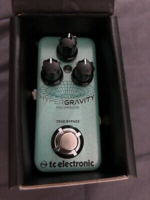 TC Electronic HyperGravity Mini Compressor Guitar Effects Pedal  • 56.87£