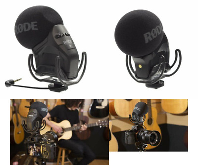 RØDE Stereo VideoMic Pro On-Camera Microphone With Rycote Shockmount • 216.99£