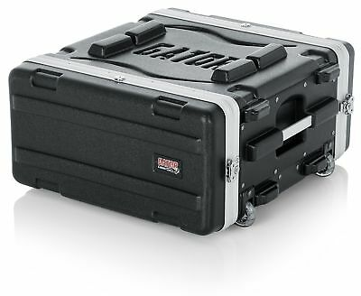 Gator Molded PE 4U 19.25 Inch Rack Case With Front / Rear Rails / Pull Handle /  • 140.96£