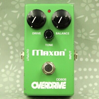 MAXON OD808 Overdrive Made In Japan Guitar Effect Pedal (1580D033) • 68.48£