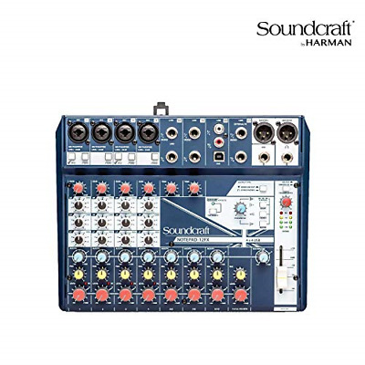 Soundcraft Notepad-12FX Small-Format Analog Mixing Console With Usb I/O And • 141.49£