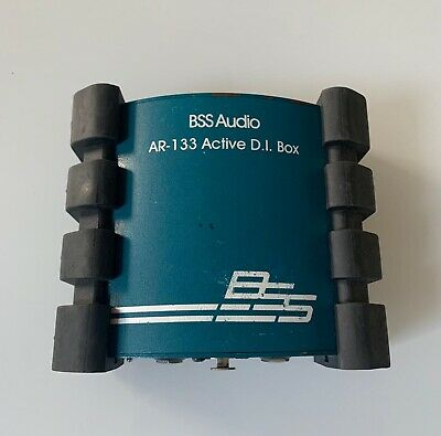 BSS AUDIO AR-133 ACTIVE DIRECT BOX DI USED - Good Condition • 86.58£