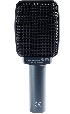 Like N E W Sennheiser E609 Silver Guitar Amp Microphone Open Box Never Used!  • 75.33£