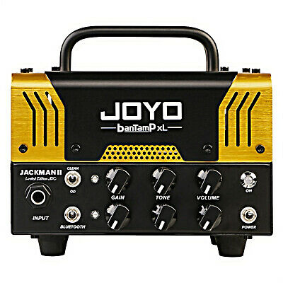 Joyo BanTamP XL Jackman II Limited Edition 20 Watt Tube Guitar Head Gold 200 Mad • 145.66£