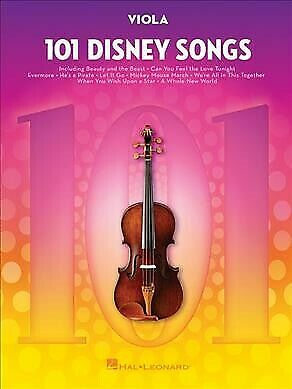 101 Disney Songs : For Viola, Paperback By Hal Leonard Publishing Corporation... • 13.23£