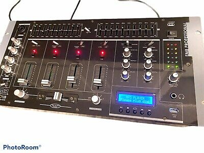 Numark C3USB 5-Channel Mobile DJ Rack Mixer With USB I/O Open Boxed Discontinued • 145.50£