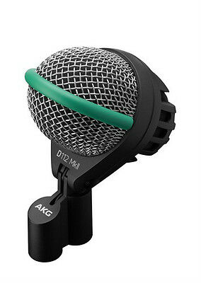 NEW AKG D112 MKII Dynamic Bass / Kick Drum Microphone Buy It Now!! Auth Dealer! • 151.19£