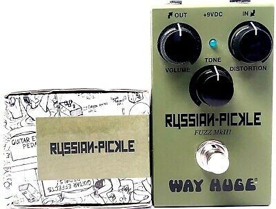 Used Way Huge Smalls Russian Pickle Fuzz MKIII, Mint Condition With Box • 73.14£