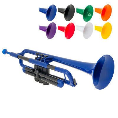 PTrumpet Plastic Trumpet With 3C And 5C Mouthpiece And Carry Bag - Bb • 119£