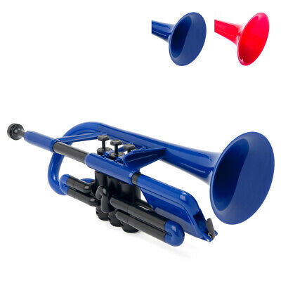PCornet Plastic Cornet With Carry Bag 2B And 4B Mouthpiece - Bb • 79£