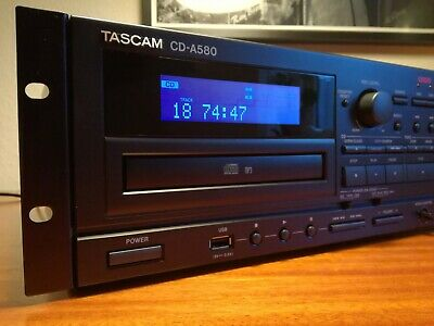 Tascam CD-A580 Professional Tape Recorder & CD-player Digital Archiving • 210£