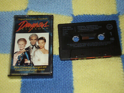 Dangerous Liaisons - Soundtrack - Cassette Tape Album 1989 • 1£