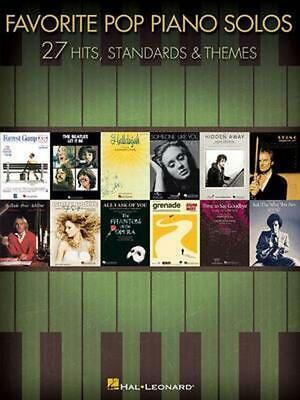 Favorite Pop Piano Solos: 27 Hits, Standards & Themes By Hal Leonard Publishing  • 11.13£