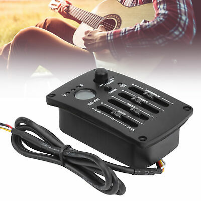 SE-4N 4 Band EQ Equalizer Pickup for Acoustic Classical Folk Guitar Accessories