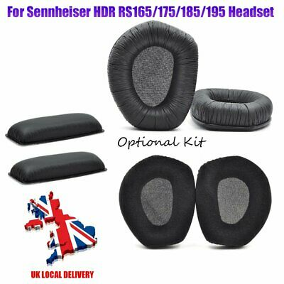 UK 2*Ear Pads/Headband Cushions For Sennheiser HDR RS165/175/185/195 Replacement • 11.99£