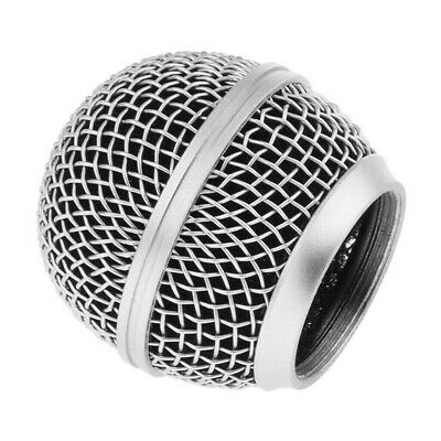 Microphone Grille Mesh Cover Mic Windshield For Shure SM58 8S 58LC 58SK W/Sponge • 2.99£