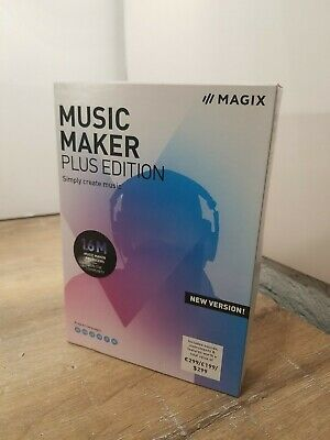 (ACTIVATION CODE ONLY) Music Maker Plus Edition Samplitude Music Studio Windows • 9.21£