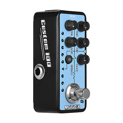 Mooer MICRO PREAMP Series 018 CUSTOM 100 Digital Preamp Preamplifier Guitar V0X6 • 74£