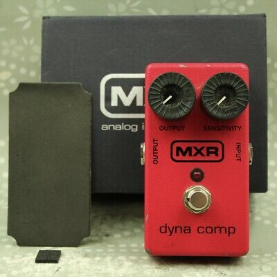 MXR M102 Dyna Comp With Original Box Guitar Effect Pedal (MMI12V085) • 50.36£