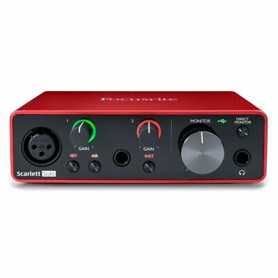 Focusrite Scarlett Solo 3rd Gen USB Audio Interface • 109£