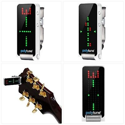 Tc Electronic PolyTune Clip Polyphonic Clip-On Tuner • 75.40£