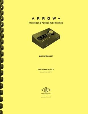 Universal Audio ARROW Interface Hardware And Software OWNER'S MANUAL  • 21.43£