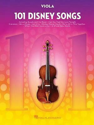 101 Disney Songs: For Viola (English) Paperback Book Free Shipping! • 15.79£
