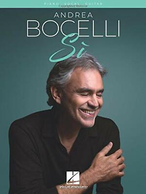 Andrea Bocelli: Si (PVG) By , NEW Book, FREE & FAST Delivery, (Paperback) • 13.75£