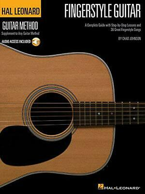 HLGM FINGERSTYLE GUITAR METHOD BK/CD (Hal Leonard Guitar Method) By Various, NEW • 14.57£