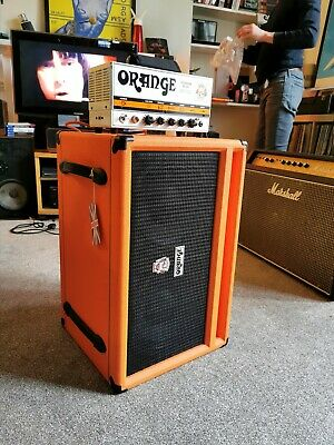 Hard-cased Orange Terror 1000w Bass Head W/ Matching Orange SP410 1200 Watt Cab  • 1,100£
