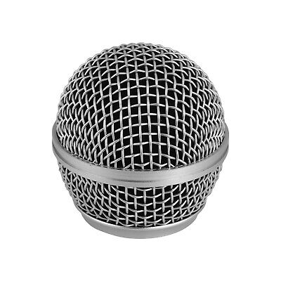 Microphone Grille Replacement Ball Head Compatible With Shure SM58/SM58S J5C1 • 3.90£