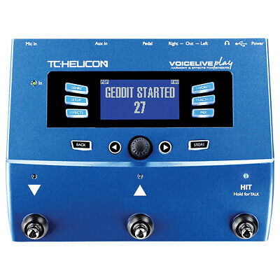 TC.HELICON TC090 VoiceLive Play Harmony And Effects For Singers QQA1248 • 359.99£