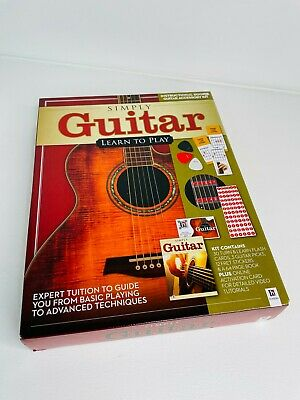 Simply Guitar Kit - Learn to Play the Guitar - Brand New - Guide / Flash Cards