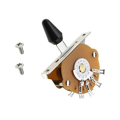 1x 5-Position 5-way Selector Switch For Fender Strat Tele Electric Guitar • 9.56£