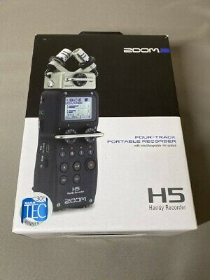 ZOOM H5 Handy PCM Field Recorder Interchangeable Mic Capsules