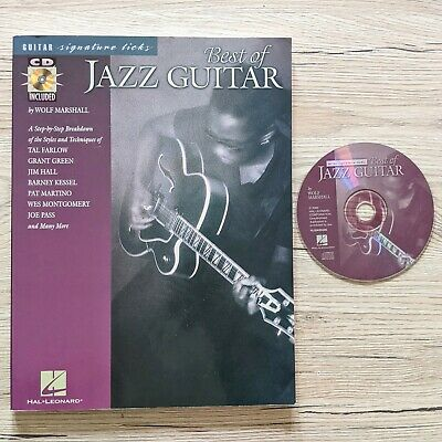 Best of Jazz Guitar [With CD] Signature Licks Series by Wolf Marshall